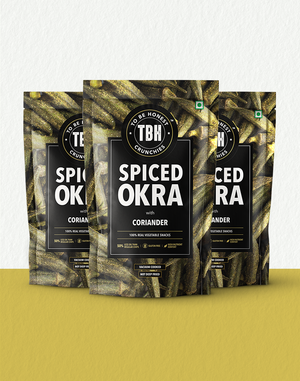 Spiced Okra with Coriander (pack of 3)