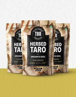 Herbed Taro with Oregano & Basil (pack of 3)