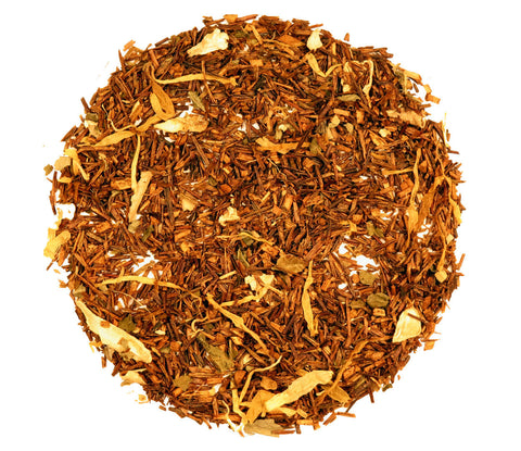 Rooibos Ginger Peach herbal tea