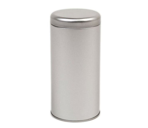 Silver Tea Canister