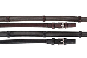 Nunn Finer - Sure Grip Rubber Reins w/ Hand Stops