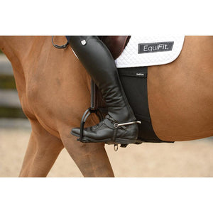 Belly band to protect horse from spur rubs