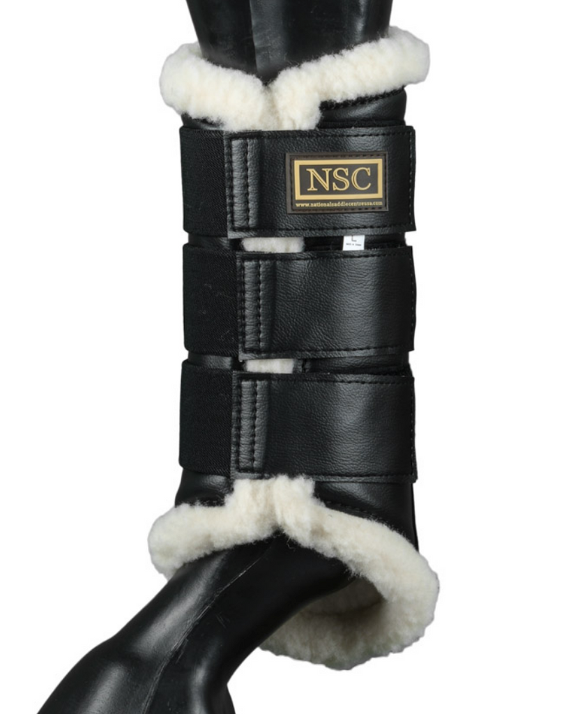 NSC Brushing boot in black