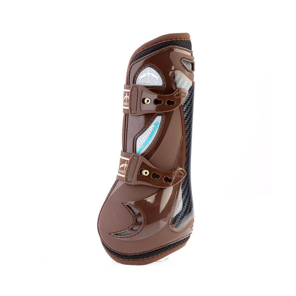 Veredus open front jump boot in brown