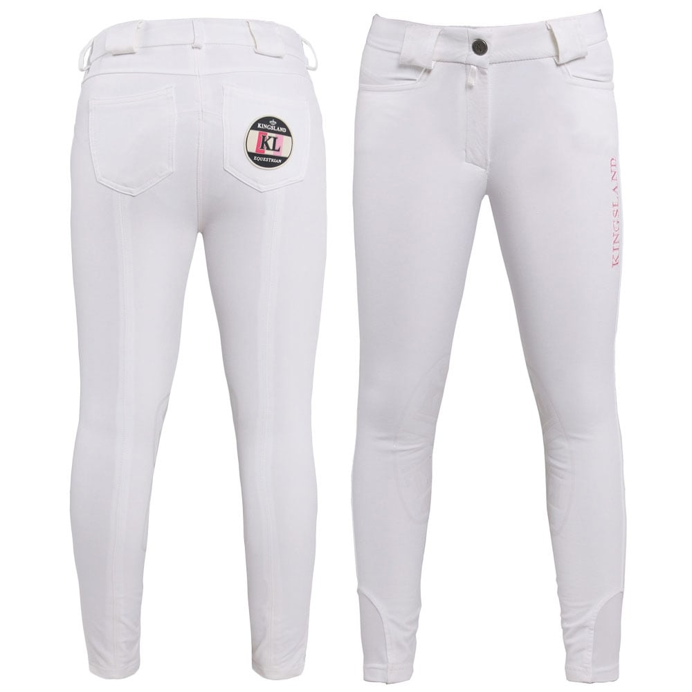 Kids white Kingsland breech on sale