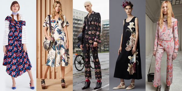 Keep Wearing It: Floral and Lace for Fall