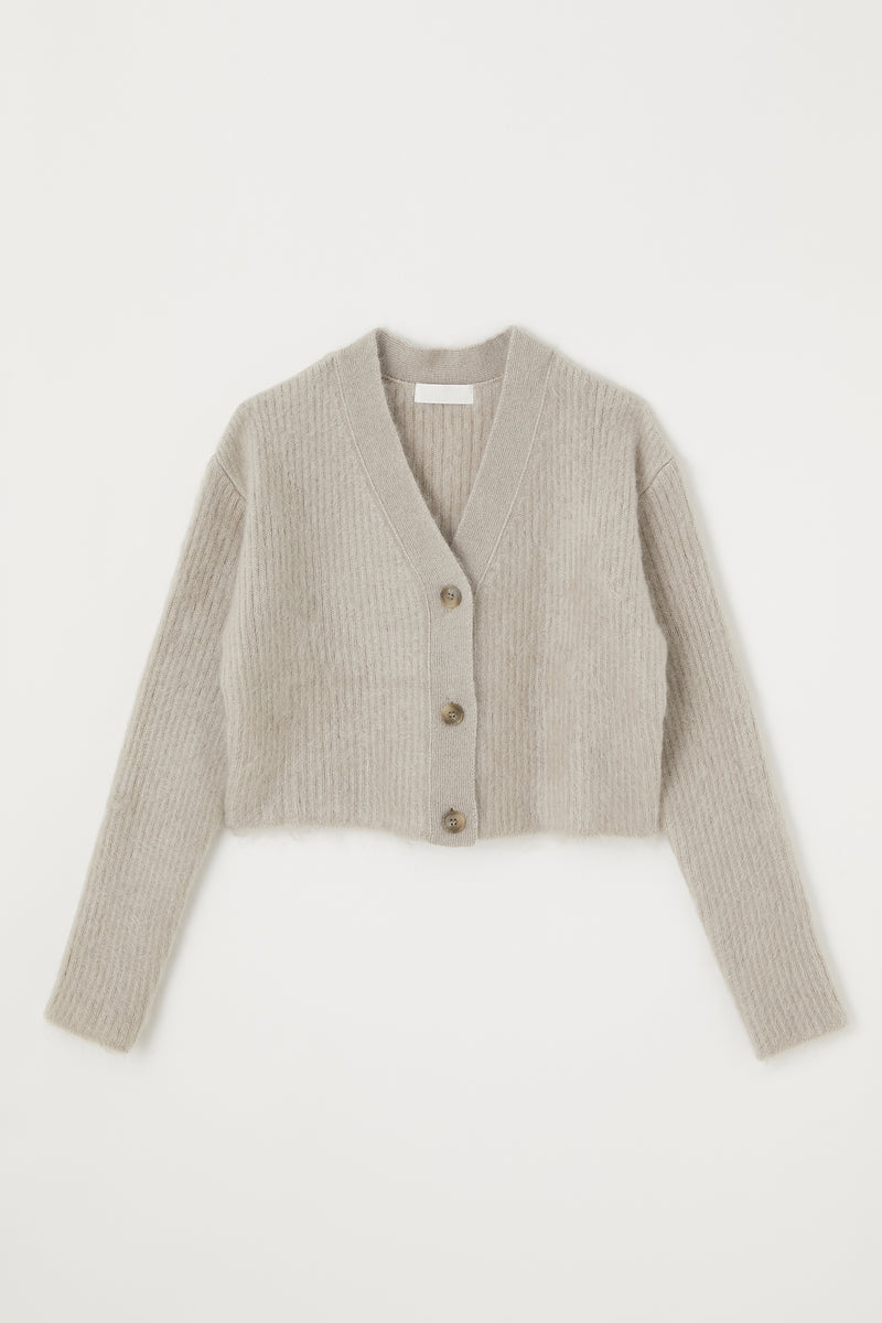 MV Silk Mohair Short Cardigan