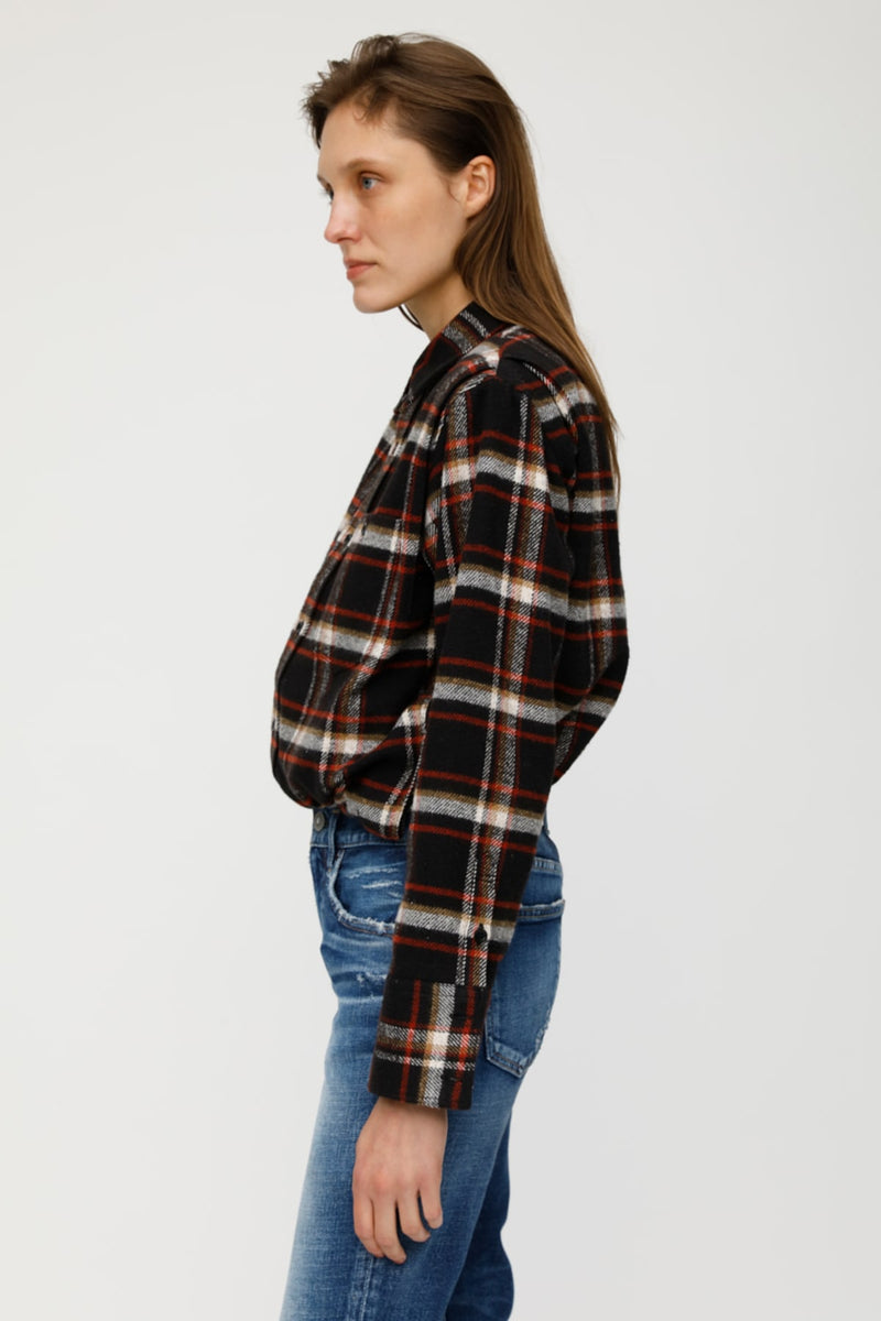 MV Box Shilhouette Check Shirt