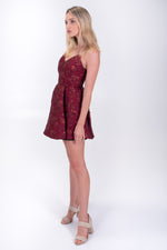 Anette Deep Pleat Party Dress