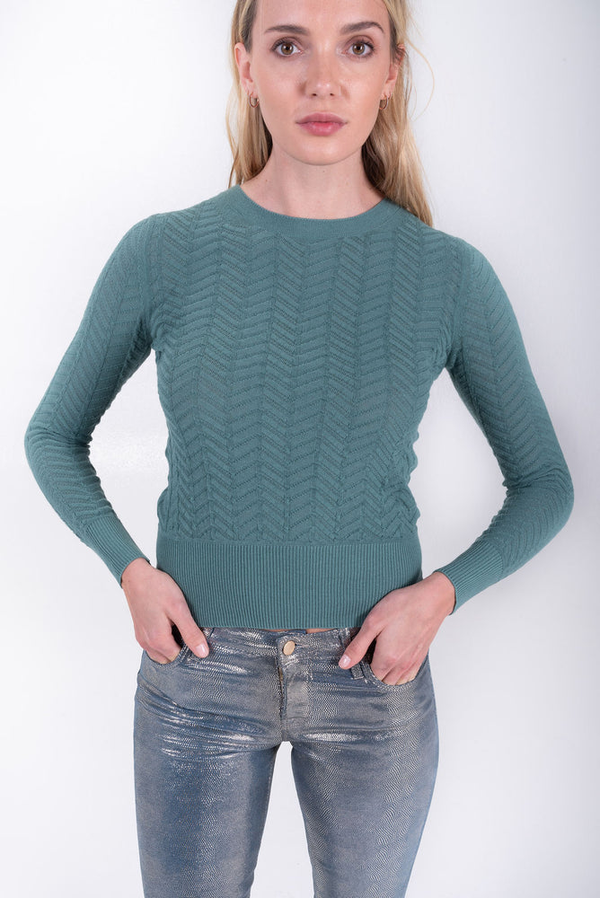 Chantal Chevron Pullover
