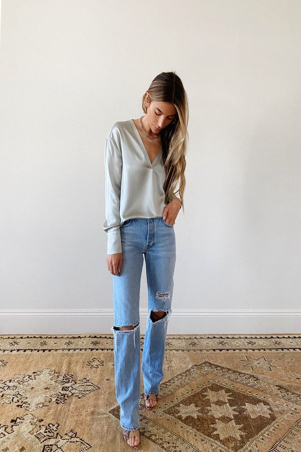 Sammy Distressed Denim