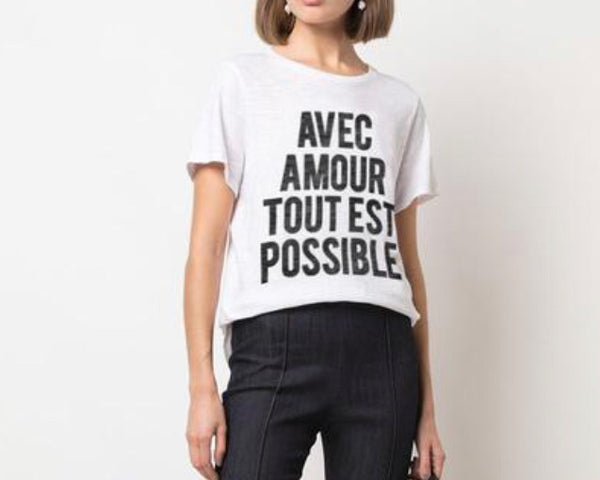 With Love Anything is Possible Tee