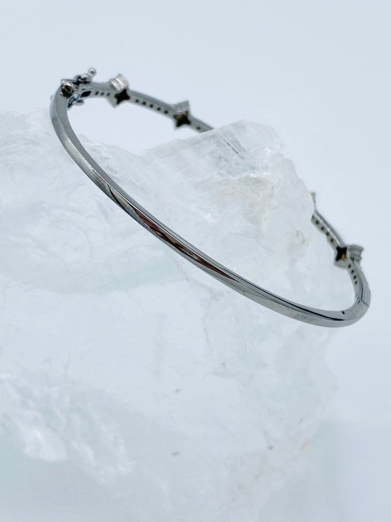 Diamond Shaped Diamond Bracelet