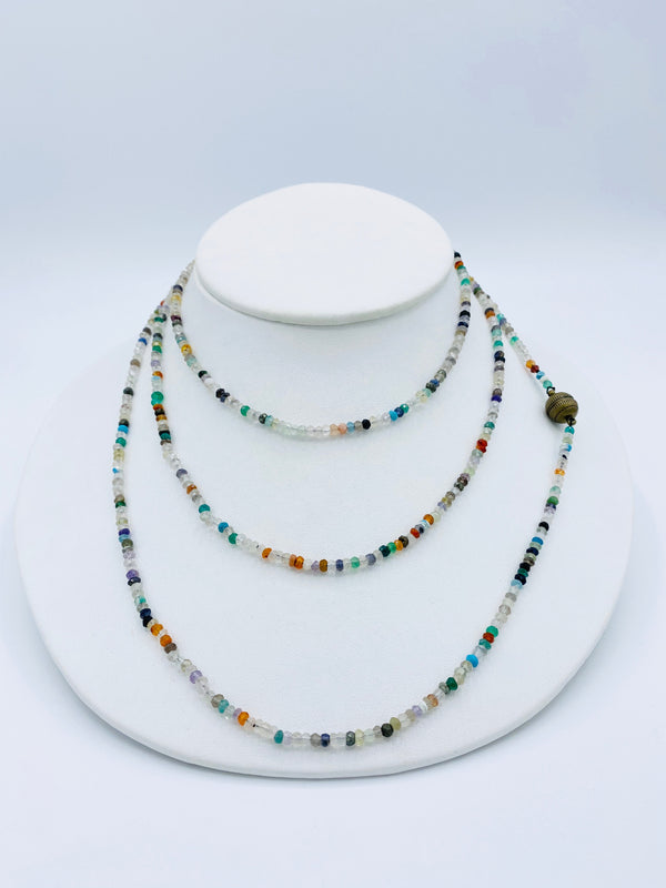 Mixed Stone Beads Necklace