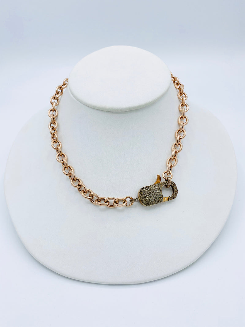 Rose Vermeil Gold Necklace