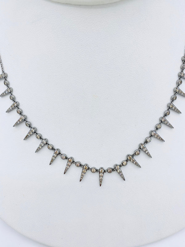 Diamond Spike Necklace