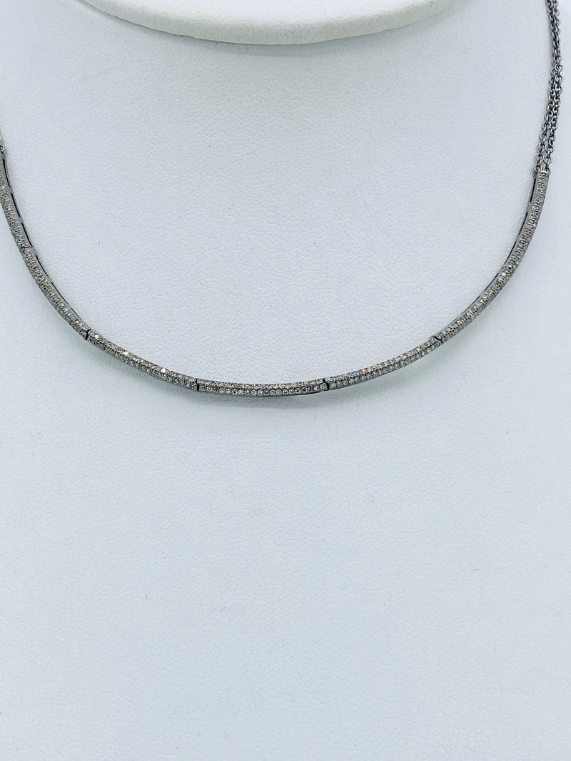 Layering Diamond Necklace