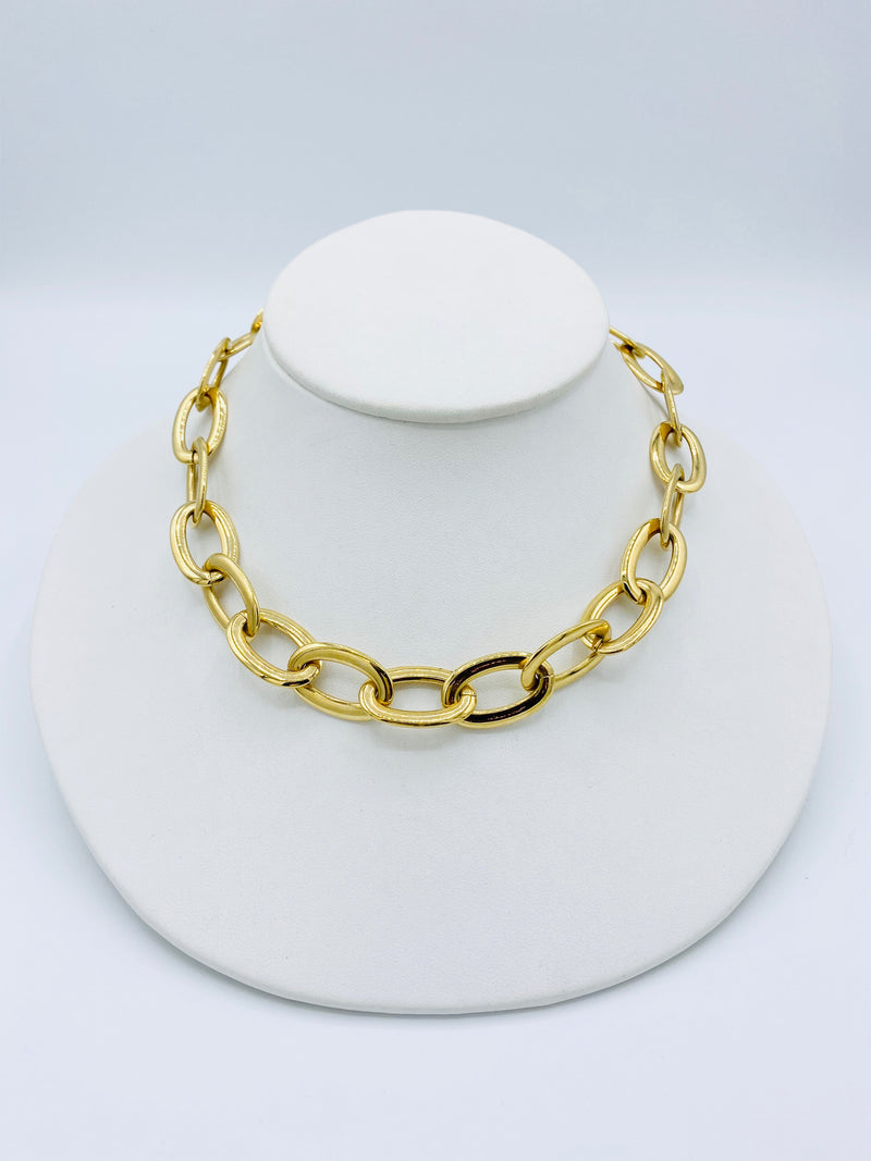 Big Oval Necklace