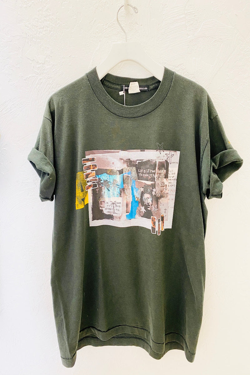 The Hvman Condition: Yellow Army Vintage Tee