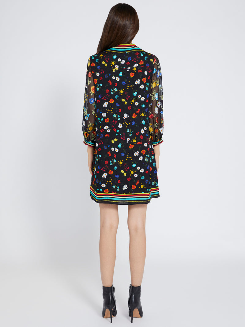 Lalita Collard Blouson Dress