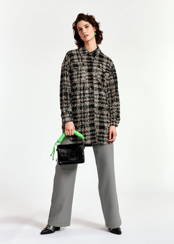 Wayne Sequin Oversized Shirt