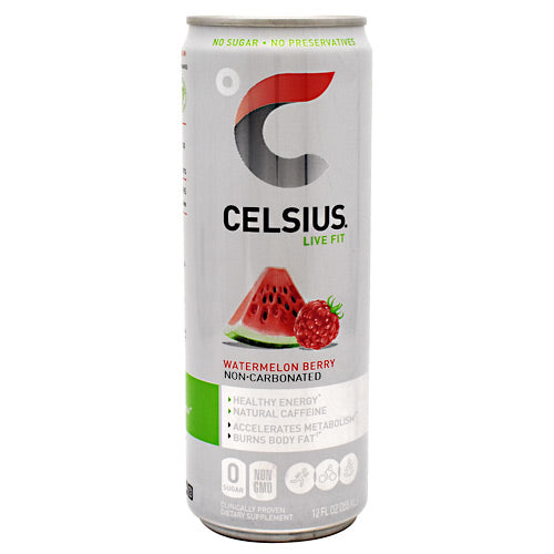 Celsius Natural Celsius - Watermelon Berry - 24 Cans - 852481007210