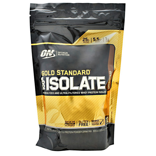 Optimum Nutrition Gold Standard 100% Isolate - Chocolate Bliss - 12 Servings - 748927060904