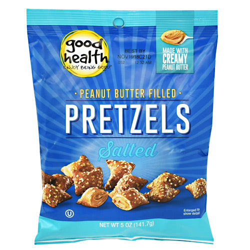 Good Health Natural Foods Peanut Butter Filled Pretzels - Salted Peanut Butter Petzels - 12 ea - 20755355001007
