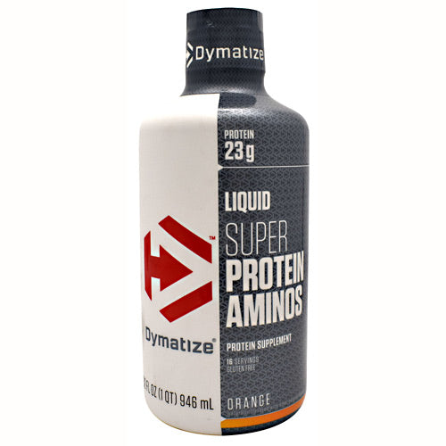 Dymatize Liquid Super Protein Aminos - Orange - 32 fl oz - 705016380343