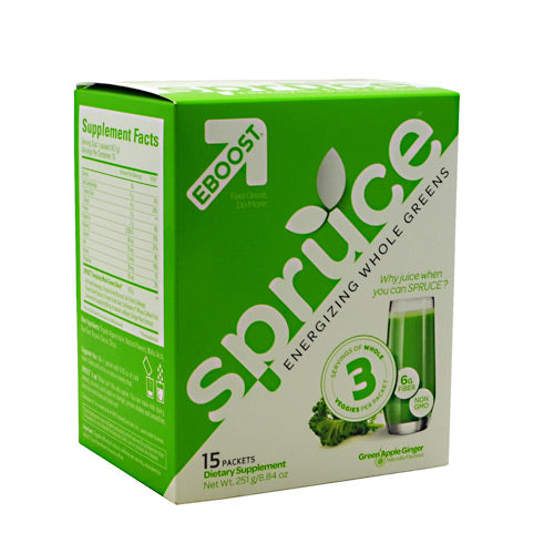 Eboost Spruce - 15 packets - 15 Packets - 856541002382