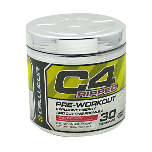 Cellucor C4 Ripped - Fruit Punch - 30 Servings - 810390025282