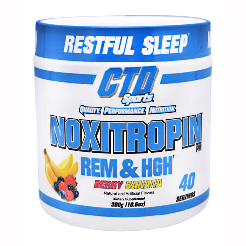 CTD Labs Noxitropin PM - Berry Banana - 40 Servings - 748252904614