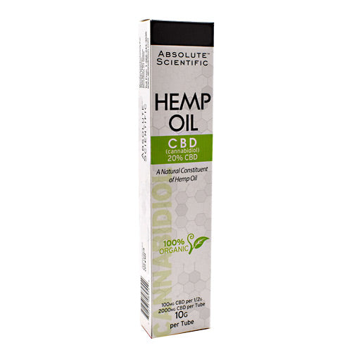 Absolute Nutrition Hemp Oil - 10 g - 708235089554