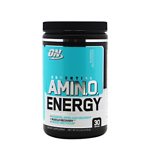 Optimum Nutrition Essential Amino Energy - Blueberry Mojito - 30 Servings - 748927054002