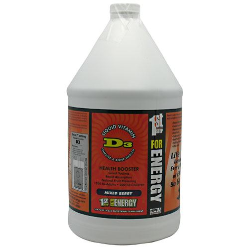High Performance Fitness Liquid Vitamin D3 - Mixed Berry - 1 gallon - 673131121212
