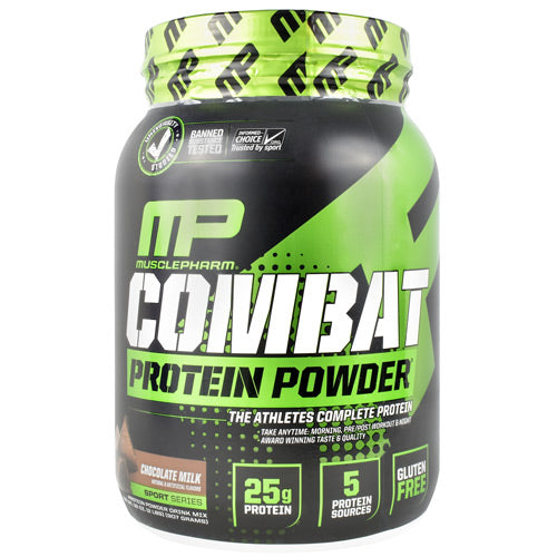MusclePharm Sport Series Combat Protein Powder - Chocolate Milk - 2 ea - 736211050977