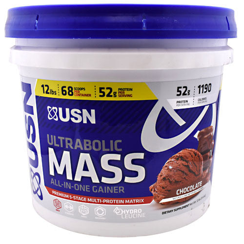 Usn Ultrabolic Mass - Chocolate - 12 lbs - 6009706099992