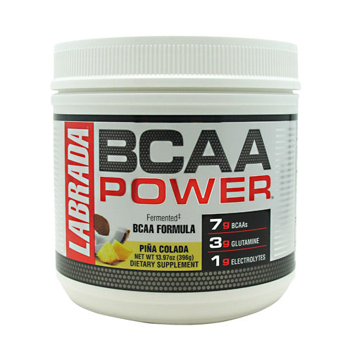Labrada Nutrition BCAA Power - Pina Colada - 30 Servings - 710779100343