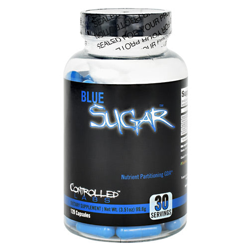 Controlled Labs Blue Sugar - 120 Capsules - 856422005808