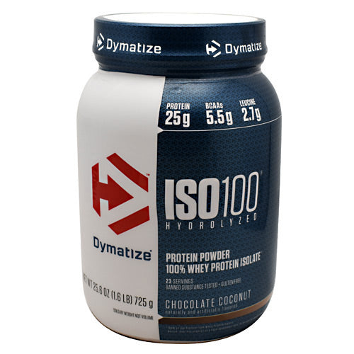 Dymatize ISO100 - Chocolate Coconut - 1.6 lb - 705016355136