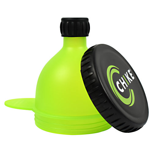 Chike Nutrition Fill-N-Go Powder Funnel - Green and Black -   - 185689000890