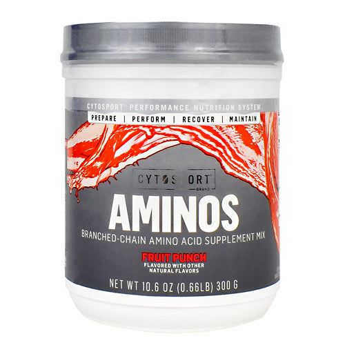 Cytosport Aminos - Fruit Punch - 10.6 oz - 660726811870