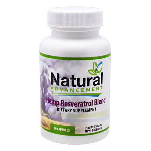 Eastwest Science Natural Advancement Hemp Resveratrol Blend - 60 Capsules - 628055605027