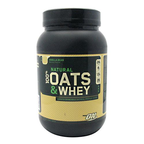 Optimum Nutrition Natural 100% Oats and Whey - Milk Chocolate - 3 lb - 748927027167