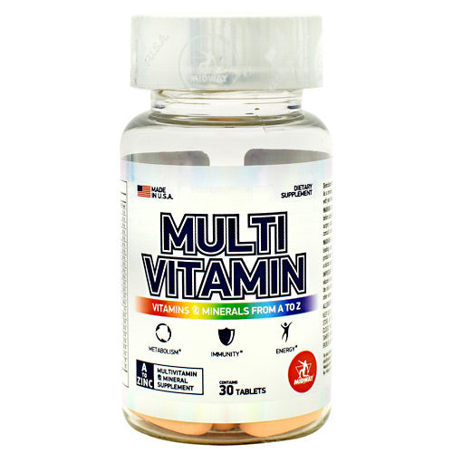 Midway Labs Multi Vitamin - 30 Tablets - 813236024166