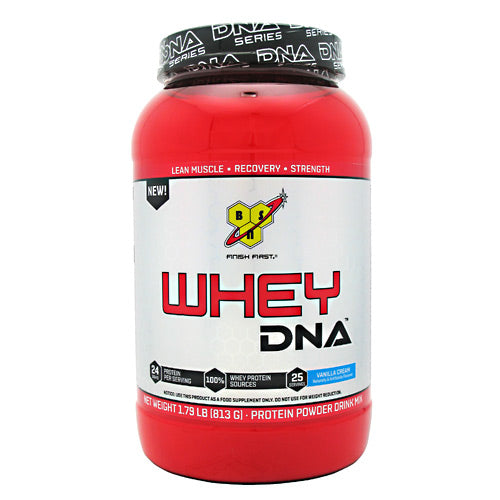 BSN DNA Whey - Vanilla Cream - 25 Servings - 834266002887