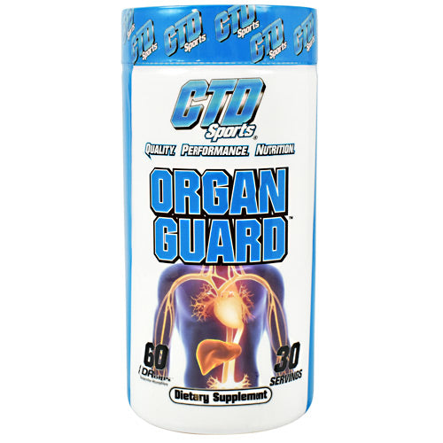 CTD Sports Organ Guard - 60 Capsules - 852228007251