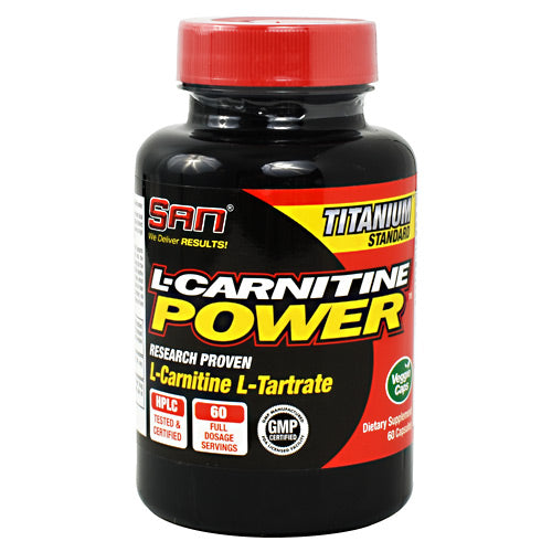 SAN L-Carnitine Power - 60 Capsules - 672898440055