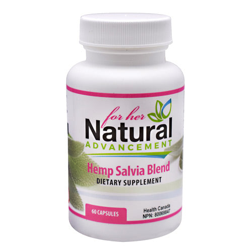Eastwest Science Natural Advancement For Her Hemp Salvia Blend - 60 Capsules - 628055605034