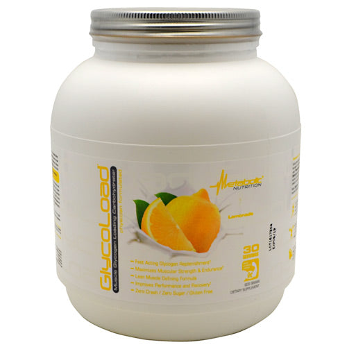Metabolic Nutrition GlycoLoad - Lemonade - 600 g - 764779600679